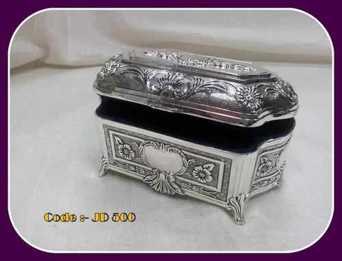 Silver Plated Jewellery Boxes