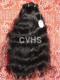 Curly hand weft