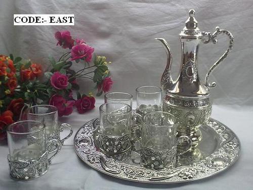 Surahi Set + Glass Holders