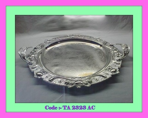 Tray Big Round with Handle