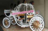 Wedding Golden Cinderella Carriage