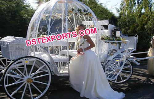 White Cinderella Carriage