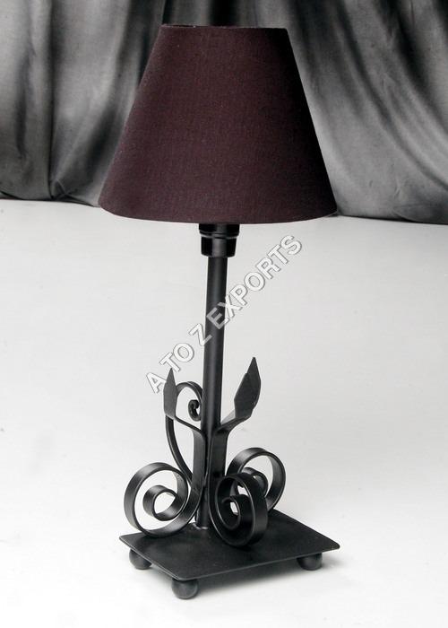 Black Powder Coated Metal Lampshade