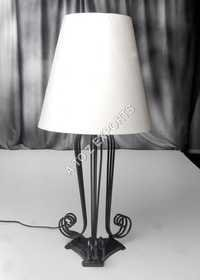 Designer Iron Black Powder Coated Lamp