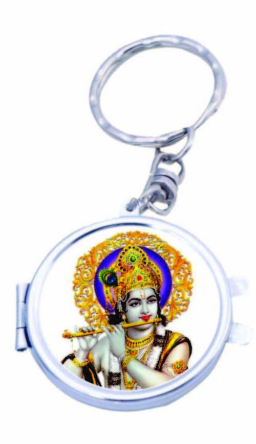 Round Mirror Key Chains