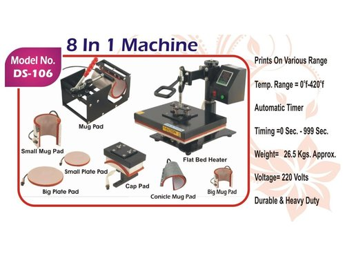 Multi Functional Heat Press Machine