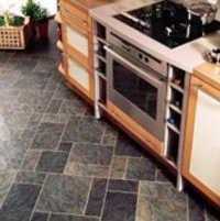 Slate Stone Flooring Project