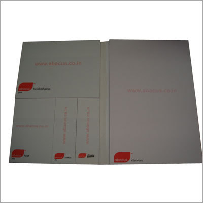 Book Style Sticky Pads With Plain Paper