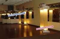 Wedding Lighted Roman Pillars