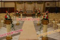 New Style Wedding Walkway Pillars