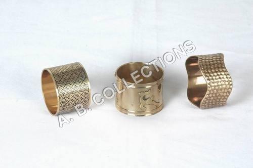 Brass Antique Round Napkin Ring