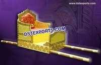 Indian Wedding Brass Meenakari Doli