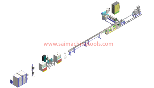Inline Dripper Irrigation Tube Extrusion Line