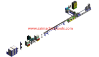 Flat Dripper Type Tube Extrusion Line