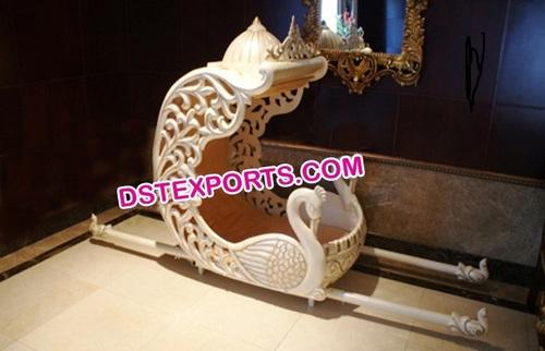 Indian Wedding Swan Doli