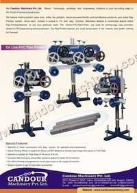 HDPE Pipe Printing Machine