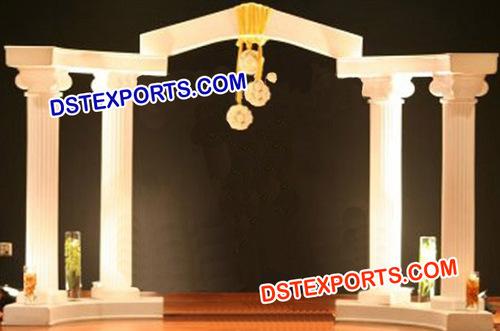 Wedding Roman Pillars Entrance Theem