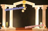Wedding Roman Pillars Entrance Theem