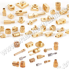 Brass-Turned-Components