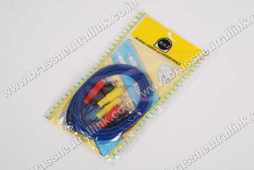 Audio Video connectors For TV Set