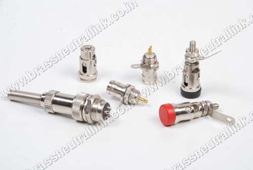 Brass Electronic Sockets