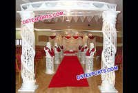 Wedding Fiber Crystal Gate