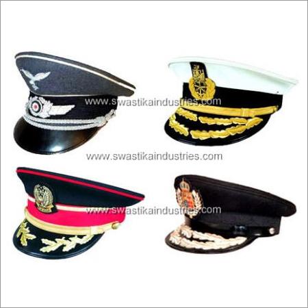Military Peak Caps