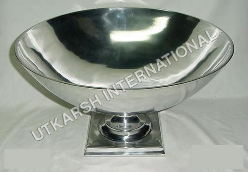 Bowl Shaped Aluminium Dish