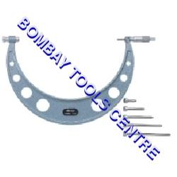 Mitutoyo Oustside Micrometers Series 340 Equipment Materials: Metal