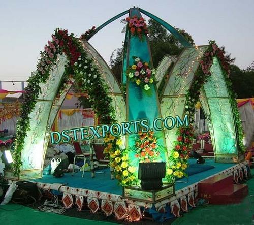 New Style Wedding Flower Mandap