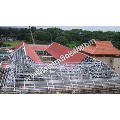 Pre Engineered Steel Roof Structure