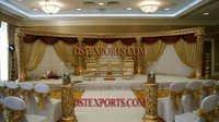 INDIAN WEDDING FIBER GOLDEN STAGE