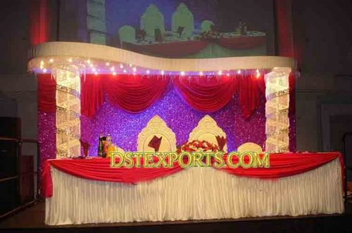 ROYAL WEDDING CRYSTAL STAGE