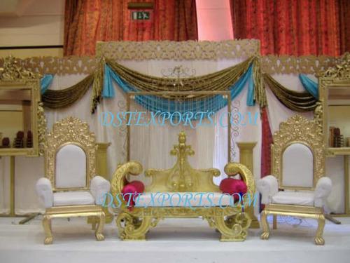 WEDDING GOLDEN MAHARAJA STAGE