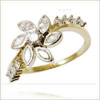 Diamond Designer  Rings Ladies gold rings