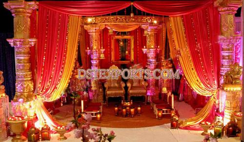 INDIAN WEDDING GOLDEN DEV STAGE