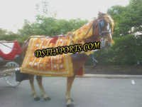 Punjabi Wedding Horse Costumes