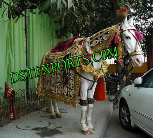 Wedding Embroidery Ghodi Costumes