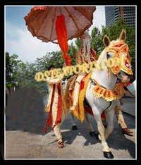 Indian Barat Horse Costume