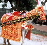 Wedding Red Horse Costume