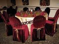 Wedding Velvet Chair Covers