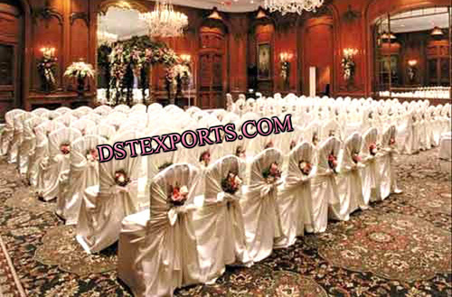 BANQUET HALL WRAPUP CHAIR COVERS