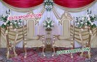 Wedding Designer Big Chair Set