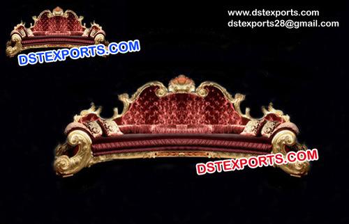 Golden Royal Maharaja Sofa