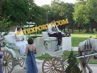 BRITISH WEDDING WHITE CARRIAGE