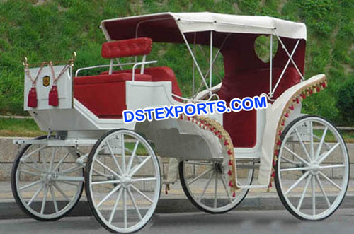 Victorian Full Hood Horse Carriage