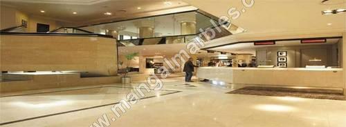 italian marble flooring for hotel