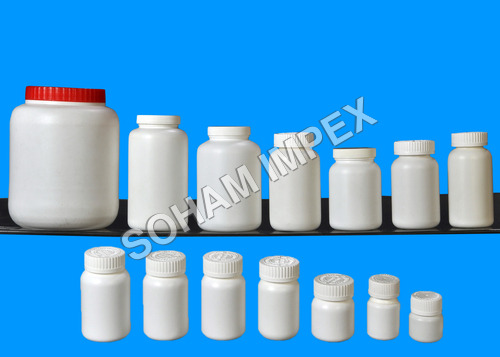 HDPE Tablets Bottles With CRC Cap