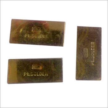 Platinum Solder