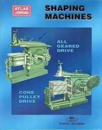 All Geared Drive Shaping Machines